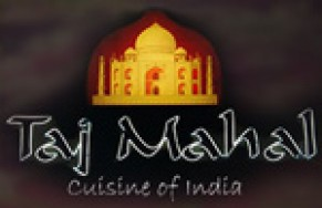 Taj Mahal Cuisine Of India Logo