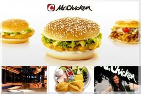 Mr. Chicken Logo