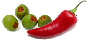 Chilli And Olive Groceries Logo