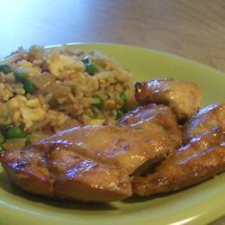 Barbecued Asian Chicken