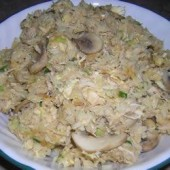 Chicken,and,Mushroom,Fried,Rice