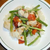 Chicken,with,Tomatoes,and,Green,Beans