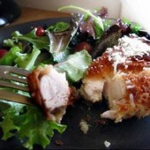 Crumbed,Parmesan,Chicken,Breasts