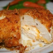 Garlic-lemon,double,stuffed,chicken,breasts