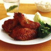 Ginger,and,hoisin,chicken,wings