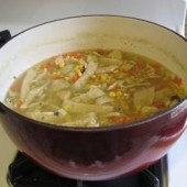 Homemade,Chicken,Noodle,Soup