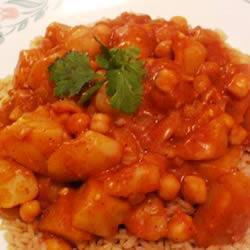 Quick Bean and Vegetable Curry