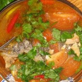Tom,Yum,Pla,Trout,(Spicy,Herbal,Soup,with,Trout)