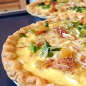 Vegetable,quiche