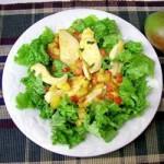Warm,Chicken,and,Mango,Salad