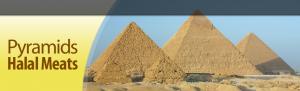 Pyramids Halal Meats Logo