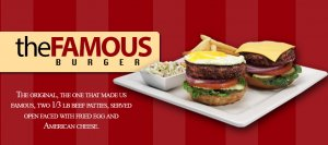 Famous Hamburger Logo