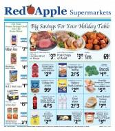 Red Apple Supermarkets Logo