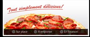 Delicio Pizza Logo