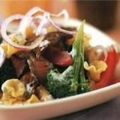 Beef,&,pasta,salad