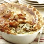 Chicken,and,mushroom,pie