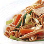 Chicken,&,soba,noodle,salad