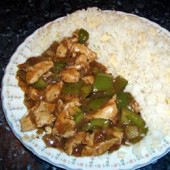 Chicken,with,Green,Capsicum,in,Black,Bean,Sauce