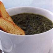 Creamy,greens,soup