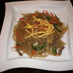Jab Chae (Korean clear Noodle)