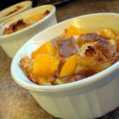 Mango,cardamom,bread,pudding