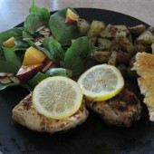 Marinated,Rosemary,Lemon,Chicken