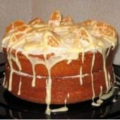 Orange,Sponge,Cake