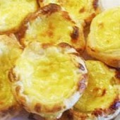 Pasteis,de,Nata,(Portuguese,Custard,Tarts)