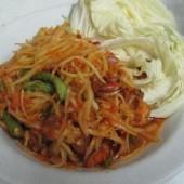 Som,Tam,Thai,(Thai,style,green,papaya,salad)