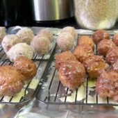 Spiced,Doughnut,Balls