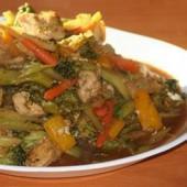 Spicy,Stir-Fried,Chicken,and,Broccoli