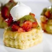 Strawberry,Kiwifruit,Tartlets