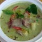 Thai,Green,Curry,with,Chicken,&,Brinjal