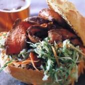 Thai-style,beef,sandwich