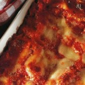 Vegetable,and,three-cheese,lasagna