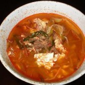 Yukgaejang,(Spicy,beef,Soup)